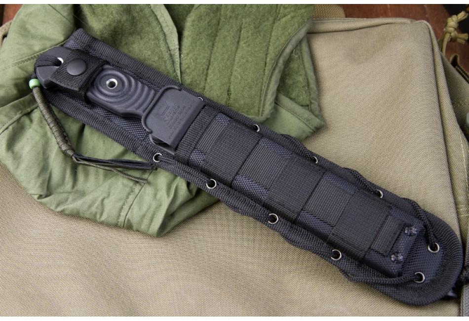 Нож Vendetta AUS-8 Black Titanium