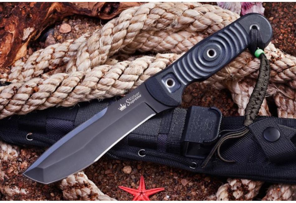Нож Vendetta D2 Black Titanium