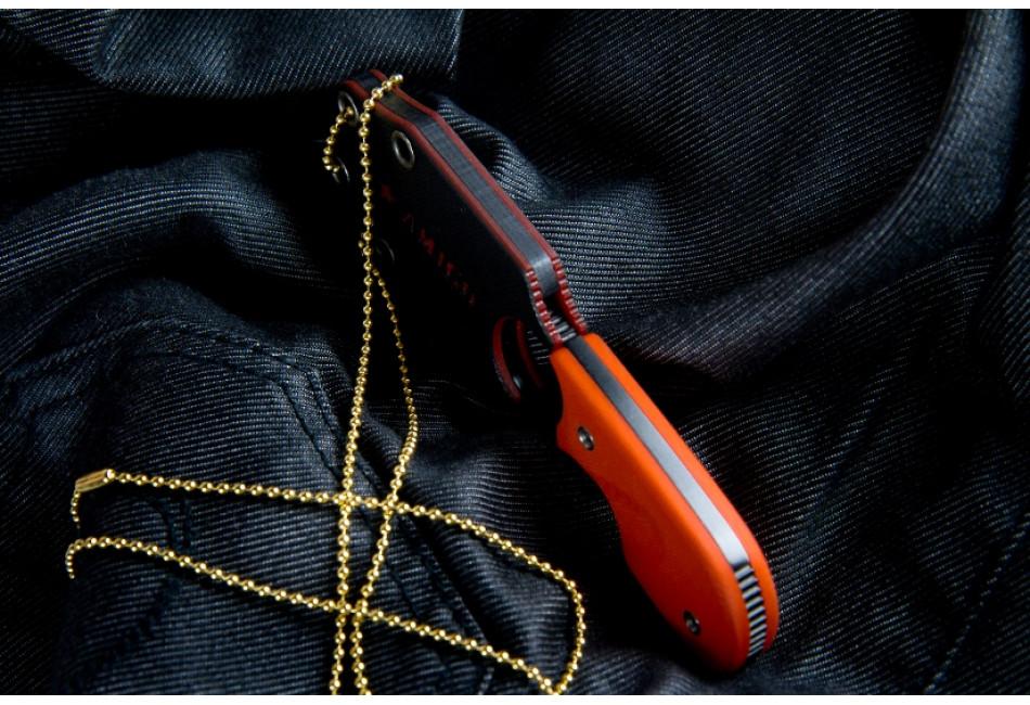 Шейный нож Amigo Z AUS-8 Black