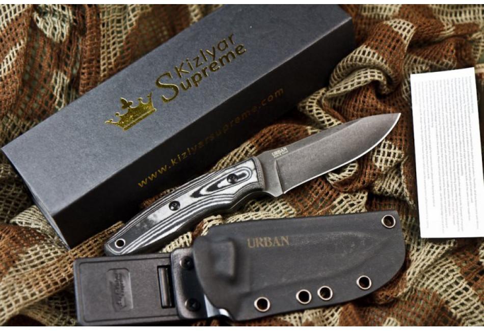 Нож Urban AUS-8 Stonewash
