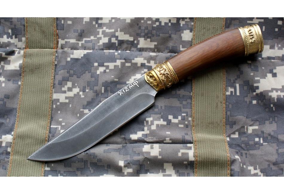 Нож Эдельвейс Х12МФ Орех