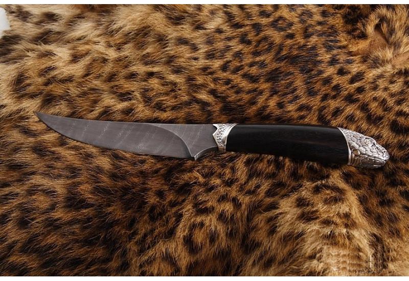 Нож Анаконда дамаск