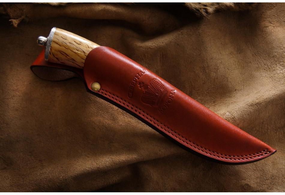 Нож Грибной дамаск
