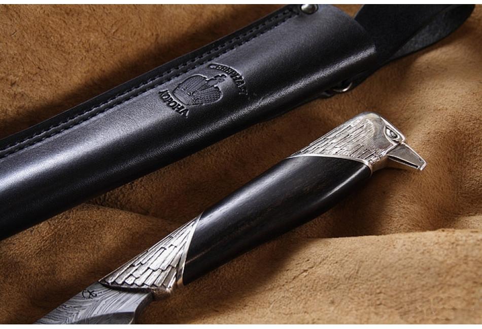 Нож Орел-3 дамаск