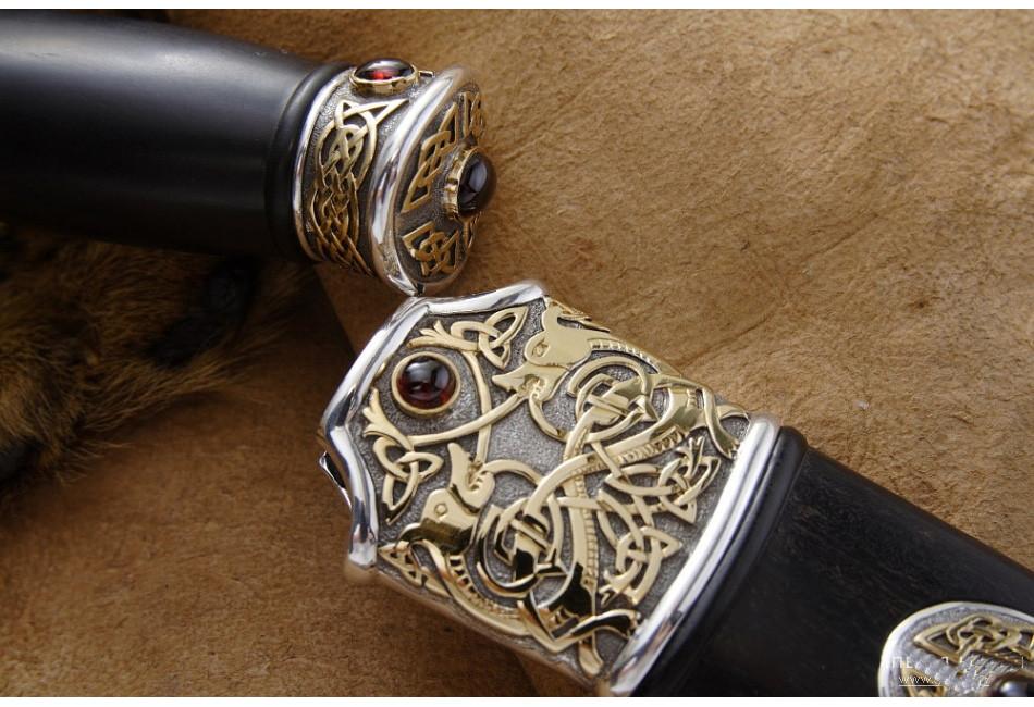 Нож Кельтский дамаск