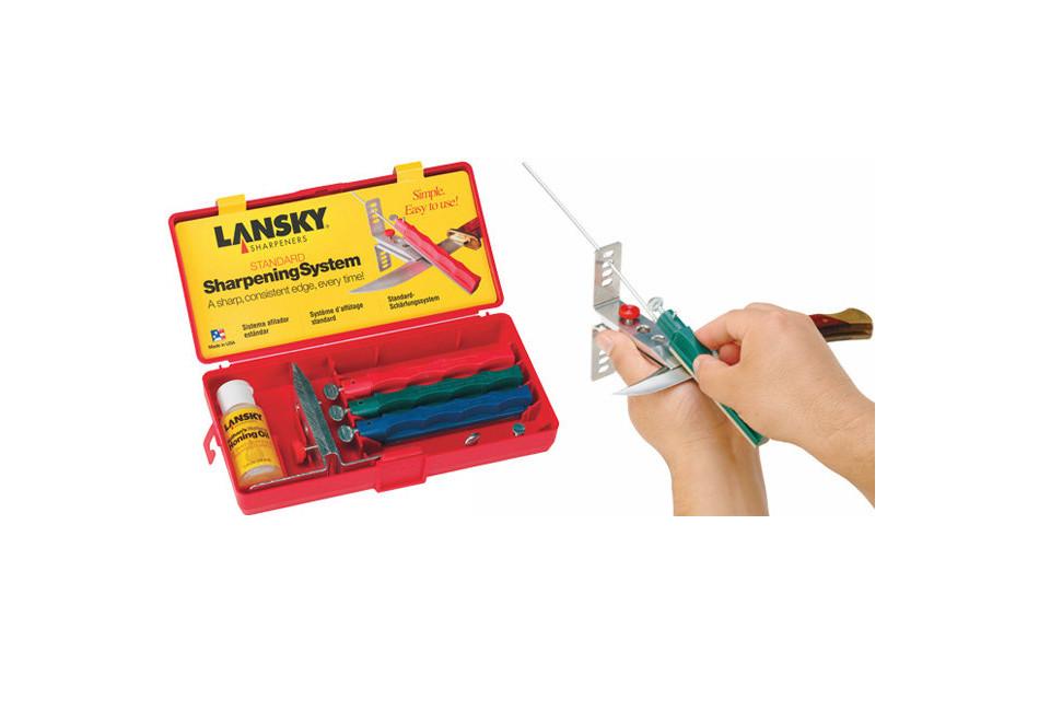 Набор для заточки ножей Lansky Standard 3 камня LKC03