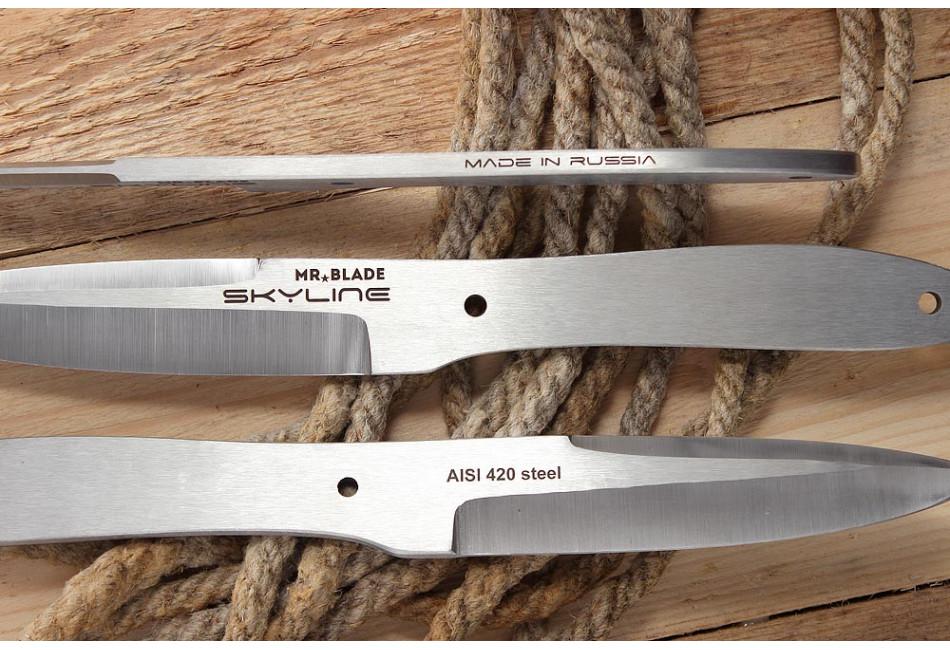 Набор из 3-х метательных ножей Skyline