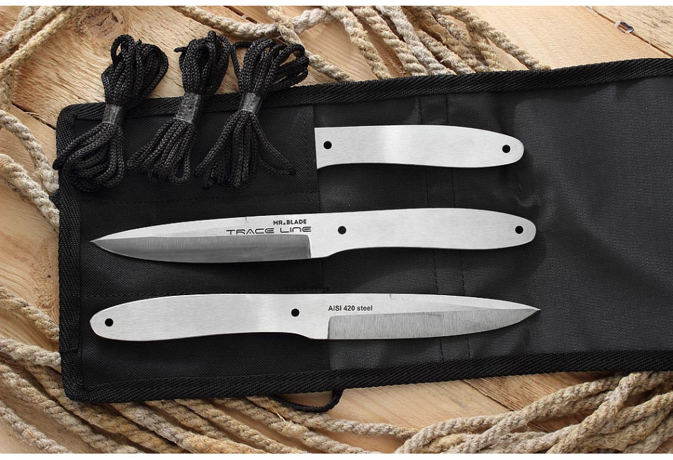 Набор из 3-х метательных ножей Traceline