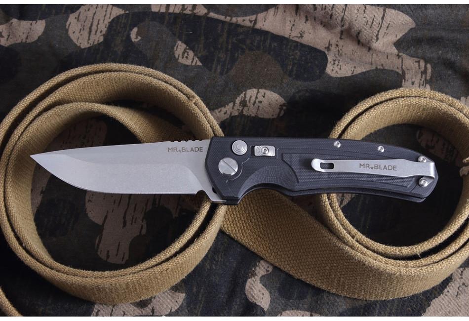 Автоматический складной нож Raven D2