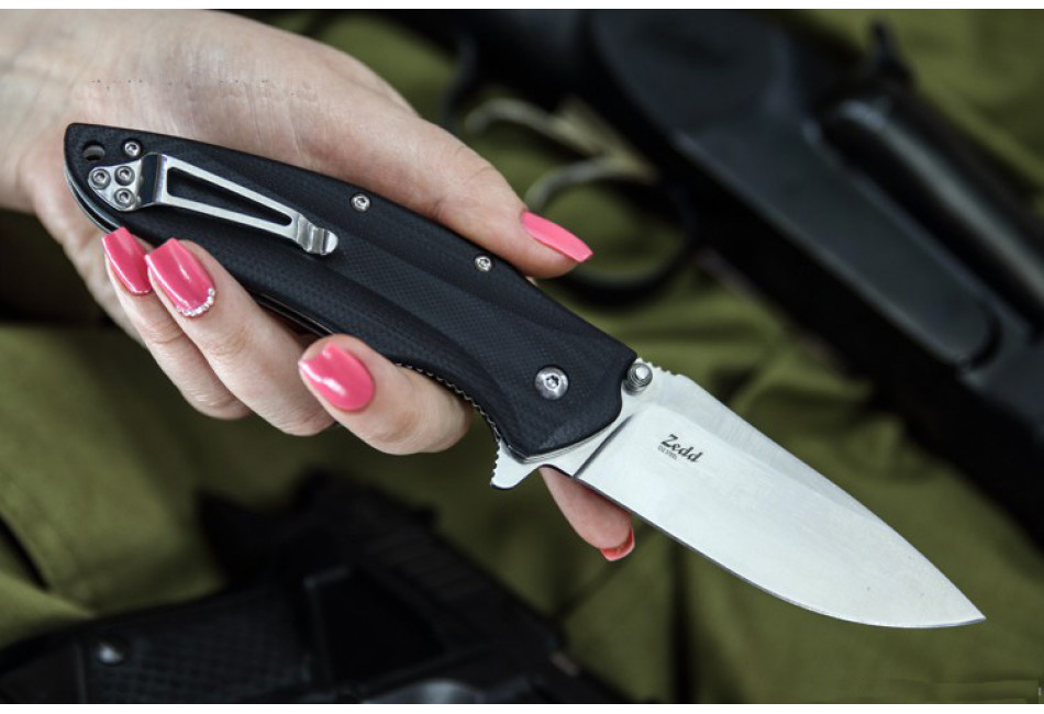 Складной нож Zedd D2 Satin