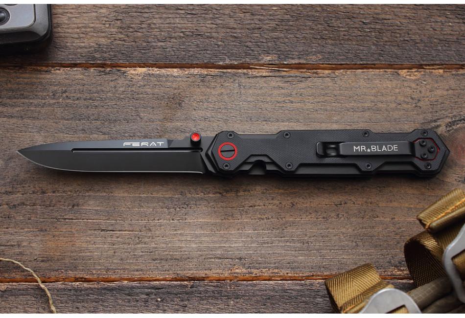 Складной нож Ferat D2 Black
