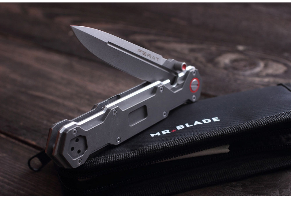 Складной нож Ferat M390 SW Titanium Handle (Limited Edition)