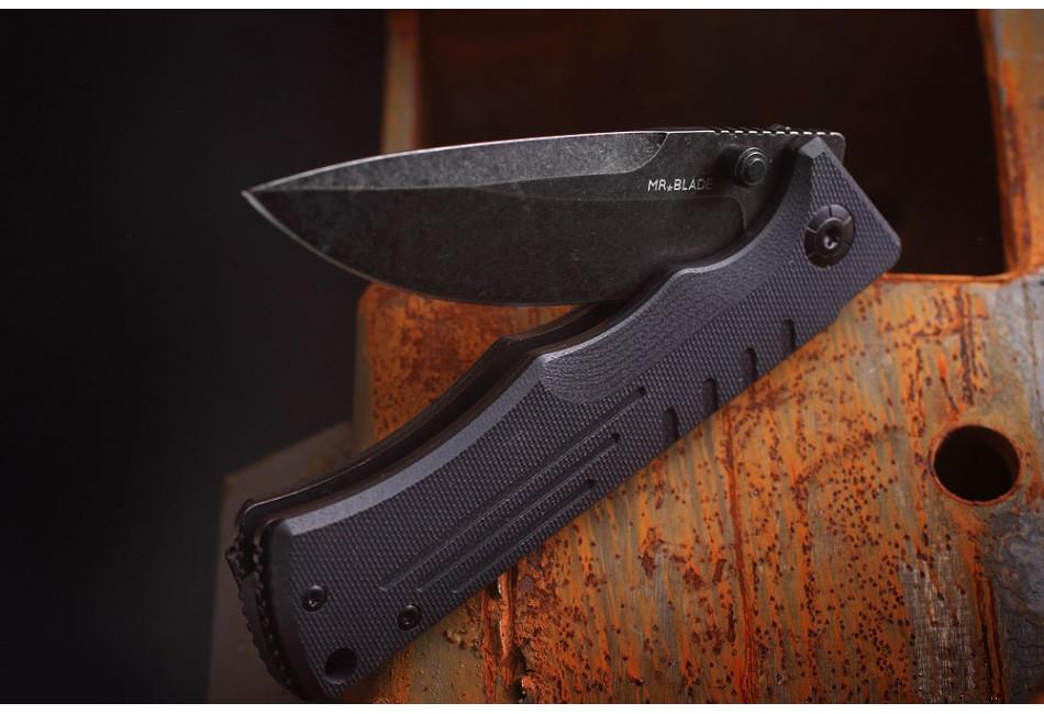 Складной нож SPLIT BLACK D2
