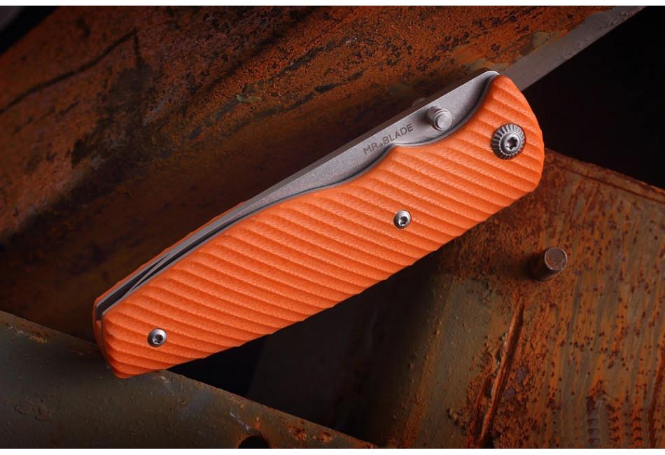 Складной нож ZIPPER BRIGHT ORANGE D2