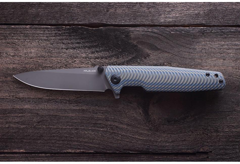 Складной нож RIFT GREY D2