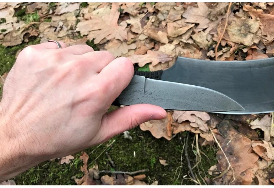 Топор (лопата) + нож