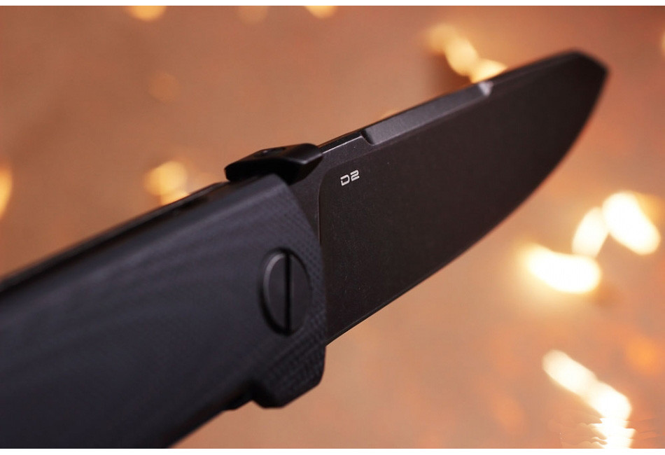 Складной нож Pike D2 Black