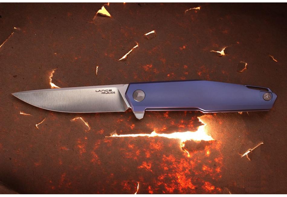Складной нож Lance M390/Titanium