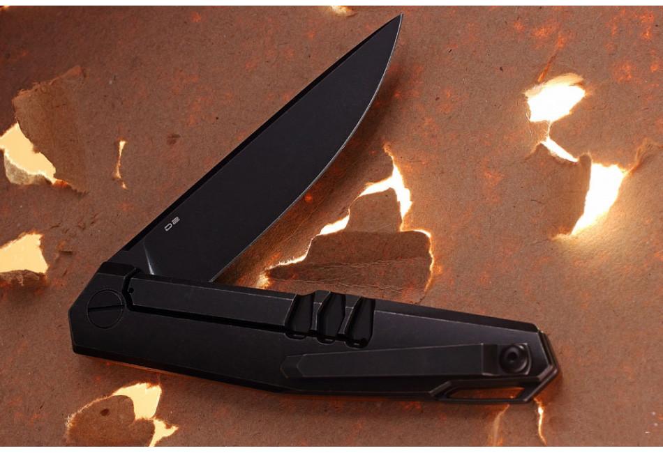Складной нож Lance D2 Brown