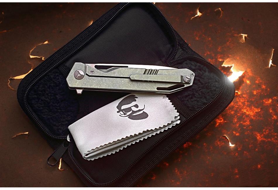 Складной нож Keeper M390/Titanium