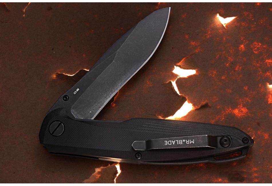 Складной нож Convair D2 Black