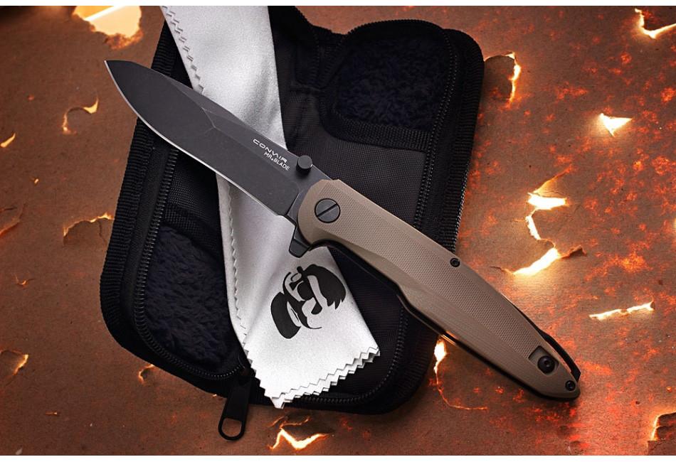 Складной нож Convair Tan D2