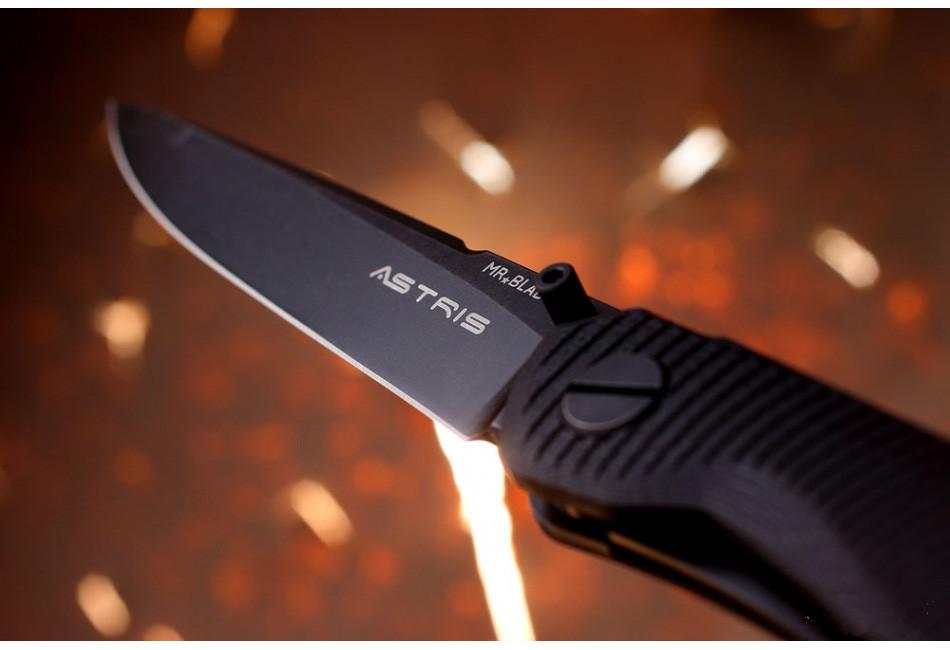 Складной нож Astris D2 Black