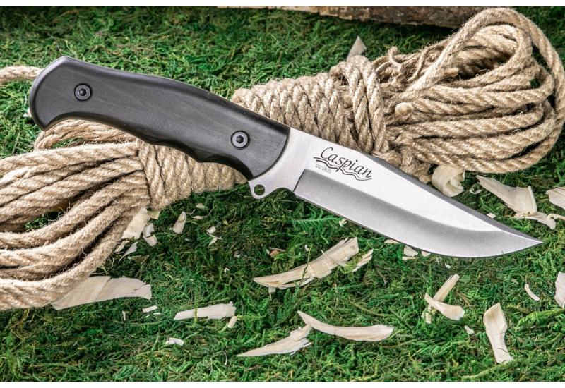 Нож Caspian D2 Satin SW граб