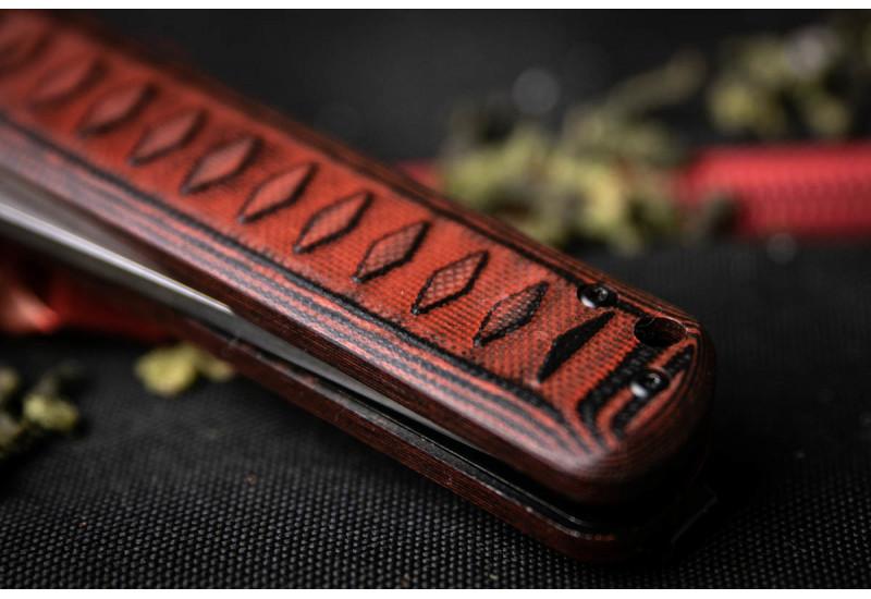 Складной нож Whisper D2 SW Red