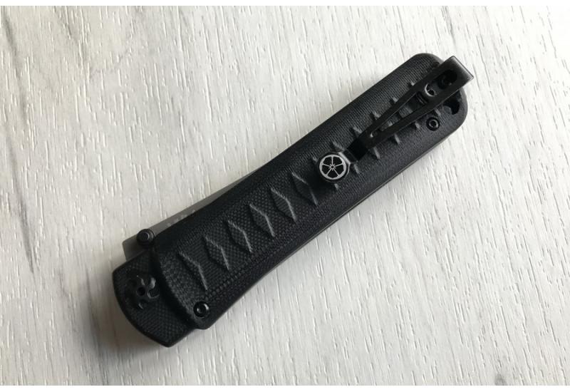Складной нож Whisper D2 TW Black