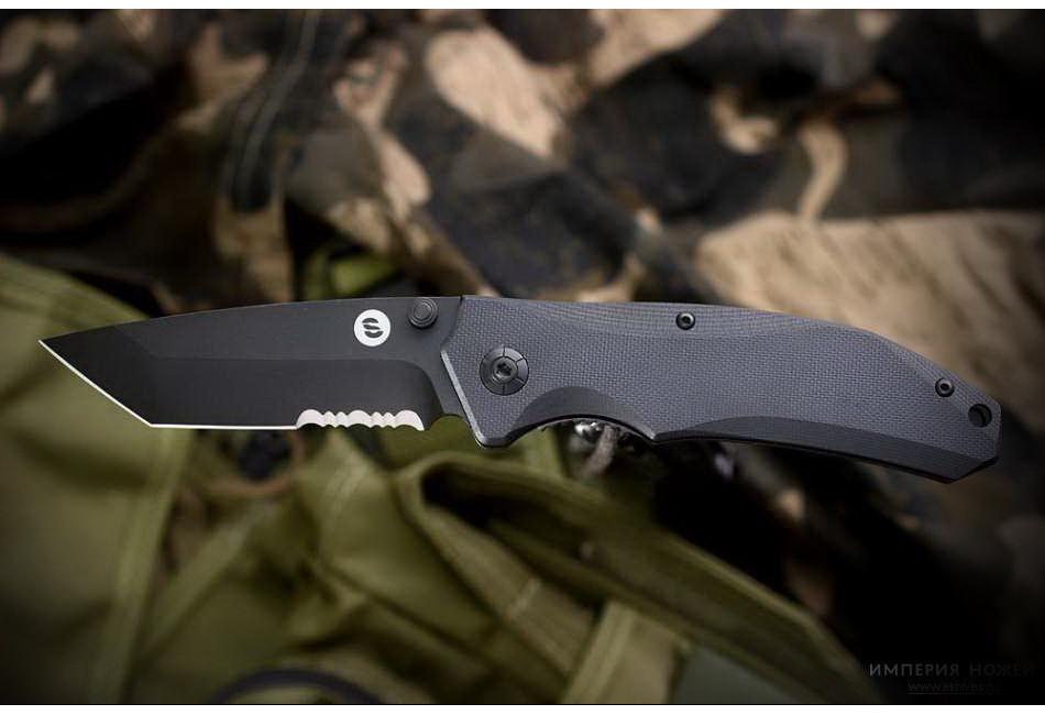 Складной нож Otava serrated