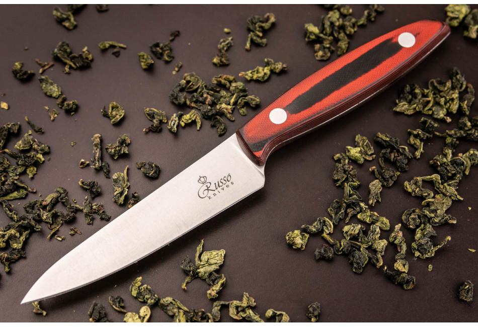 Кухонный нож Alexander S AUS-8 Red G10