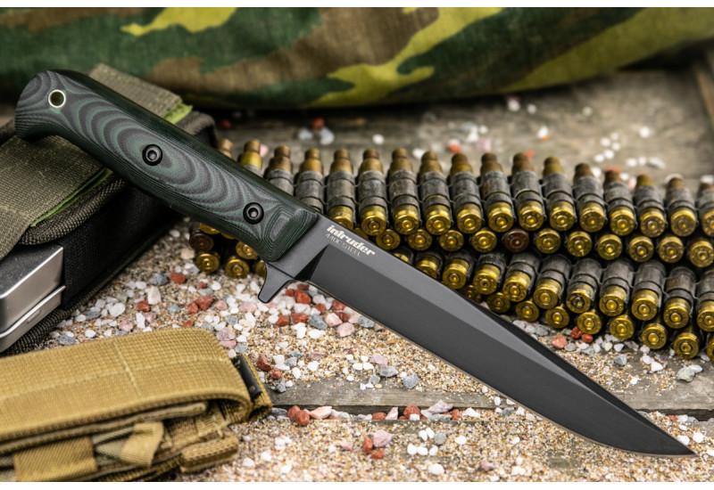 Нож Intruder 440C Black Titanium