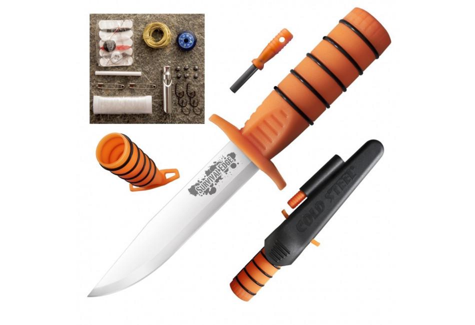 Нож Cold Steel модель 80PH Survival Edge (Orange)