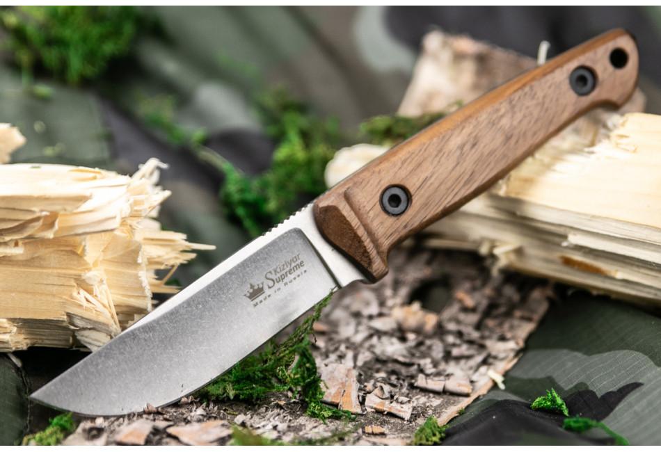 Нож Nikki D2 SW орех