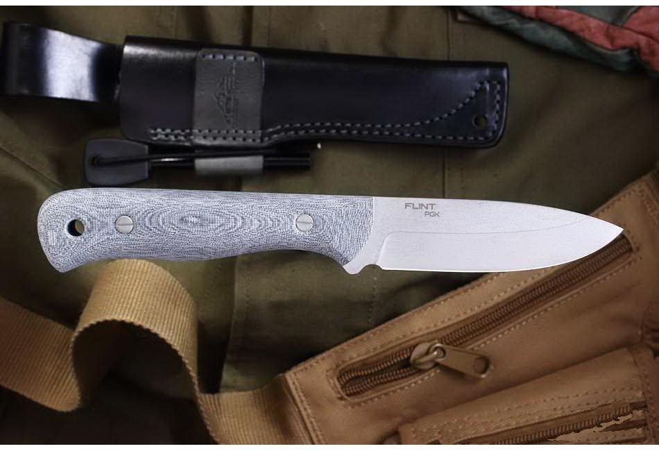 Нож Flint PGK с огнивом