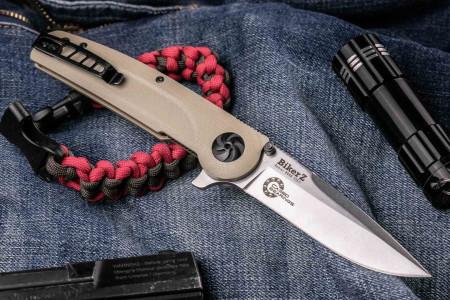 Складной нож Biker Z N690 Satin